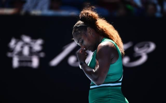 Australian Open: Serena Williams unterliegt Pliskova - Matchbälle vergeben