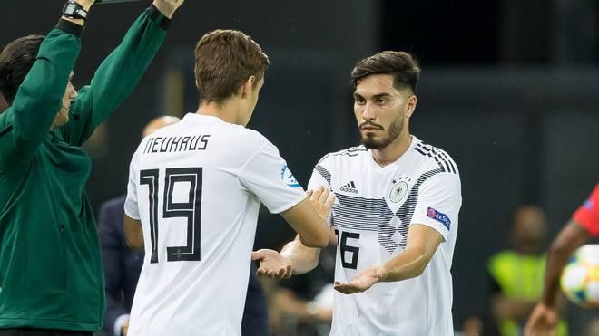 Florian Neuhaus und Suart Serdar wären auch 2021 noch bei Olympia spielberechtigt