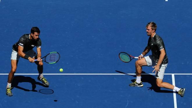 Kevin Krawietz (r.) und Andreas Mies sind die die Doppel-Aufsteiger des Jahres