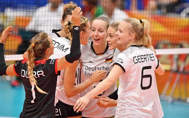 Deutschlands Volleyball-Frauen bei der WM