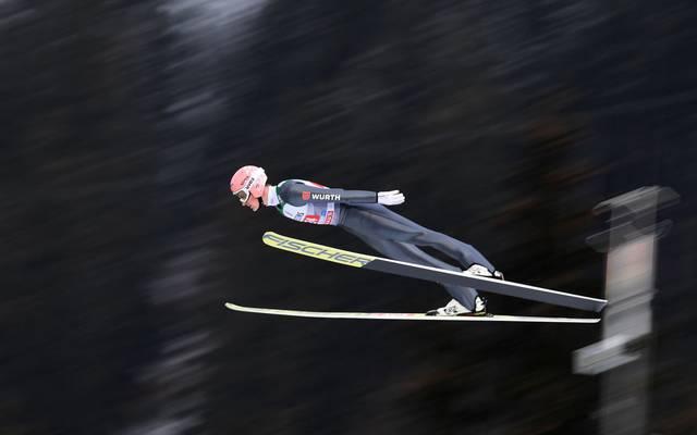 Severin Freund wurde 2014/15 Gesamtweltcupsieger
