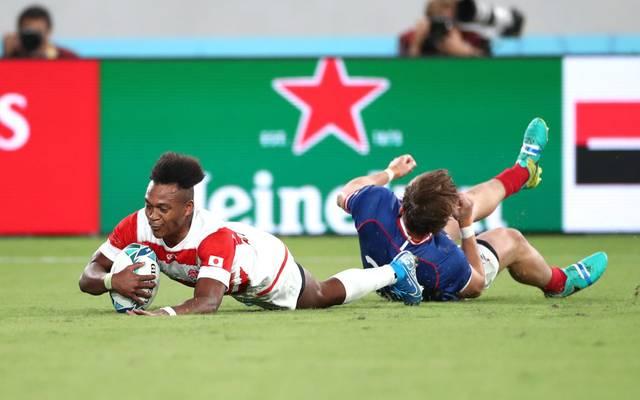 Bei der Rugby-WM gewann Japan zum Auftakt gegen Russland