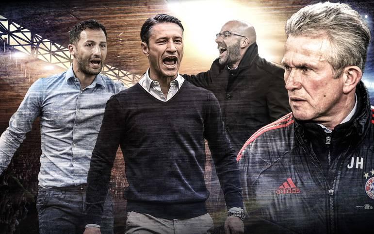 Elf Bundesliga-Spieltage sind absolviert, einige Trainer haben bereits positiv auf sich aufmerksam machen können - nicht nur Jupp Heynckes. SPORT1 zeigt das Trainer-Ranking der Bundesliga