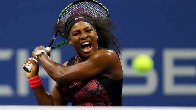 Serena Williams steht im Achtelfinale der US Open
