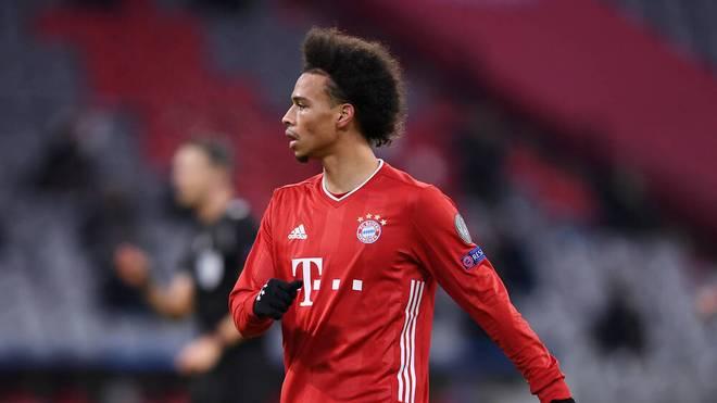 Leroy Sane spielt mit den Bayern gegen Wolfsburg