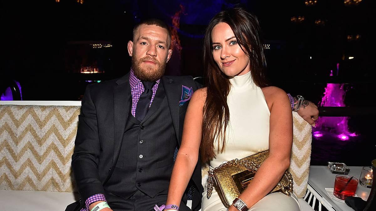 Conor McGregor mit seiner zukünftigen Ehefrau Dee Devlin