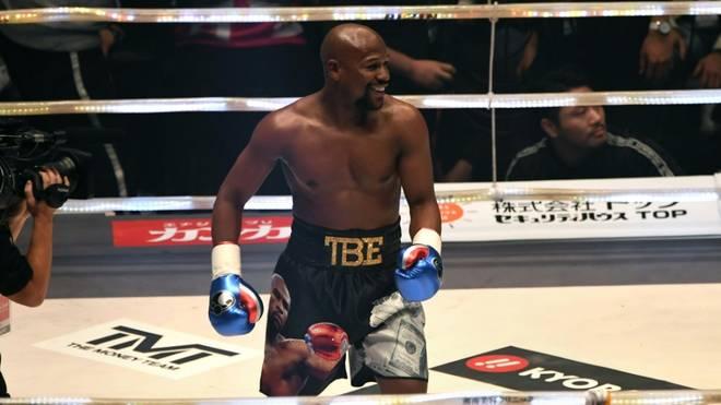 Floyd Mayweather jr. vor Rückkehr in den Boxring