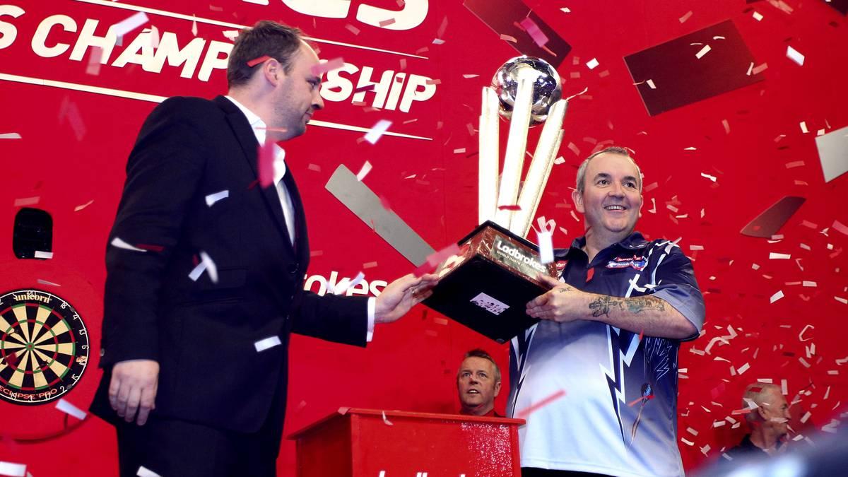 Phil Taylor feierte in seiner Karriere 16 Weltmeister-Titel