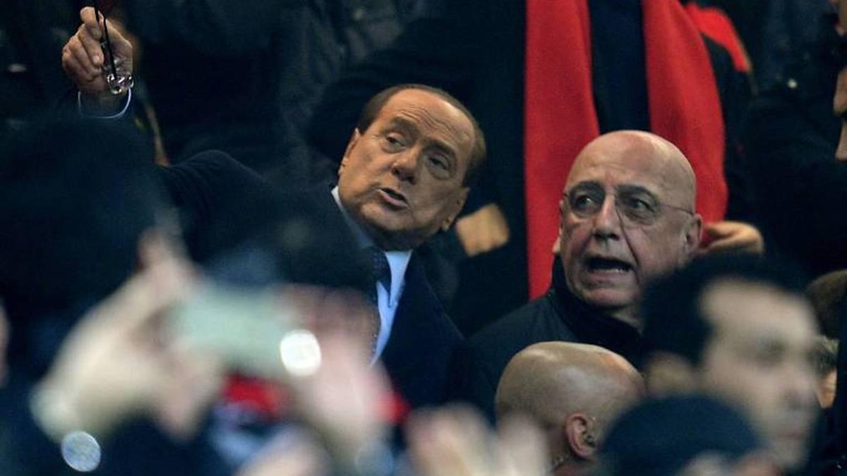 Silvio Berlusconi (l.) und Adriano Galliani wollen Italiens Fußball aufmischen