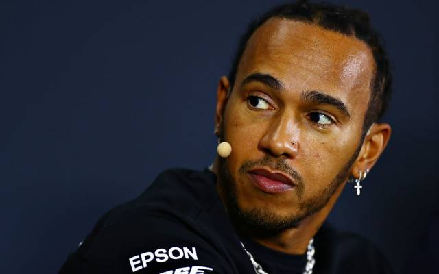Lewis Hamilton war in Australien unterwegs