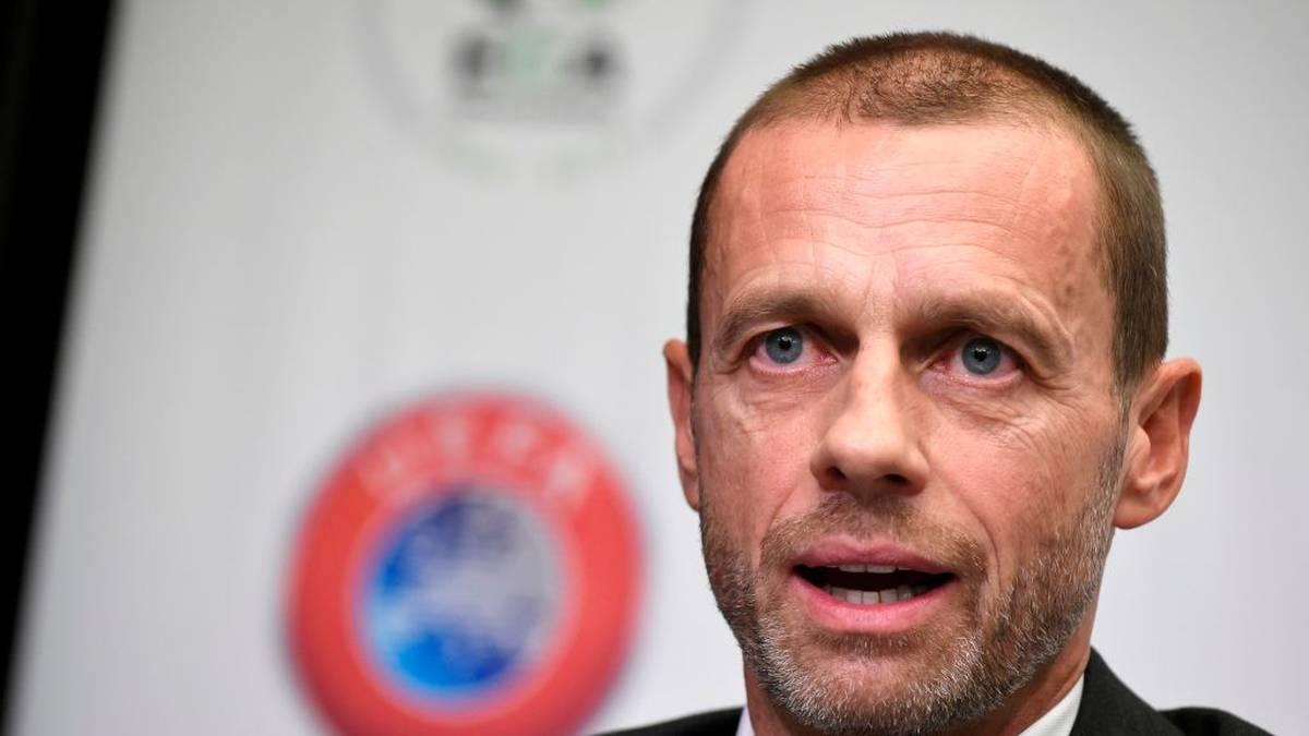 UEFA-Präsident Aleksander Ceferin will keine Saisonabbrüche in den Ligen