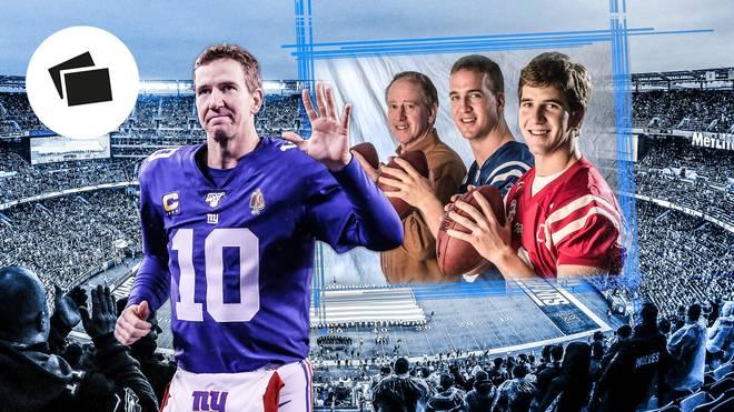 Die Mannings sind eine footballverrückte Familie
