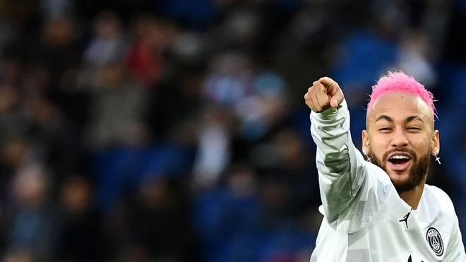 Neymar wird Paris Saint-Germain gegen den BVB wohl zur Verfügung stehen