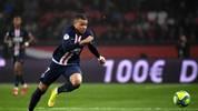 Der französische Nationalspieler Kylian Mbappé spielt seit 2018 bei Paris Saint-Germain