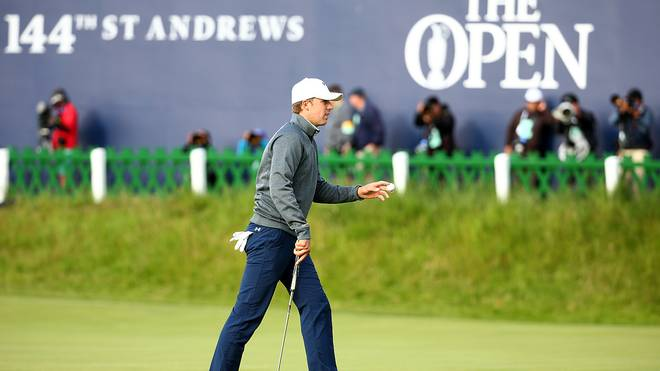 Jordan Spieth bei den British Open
