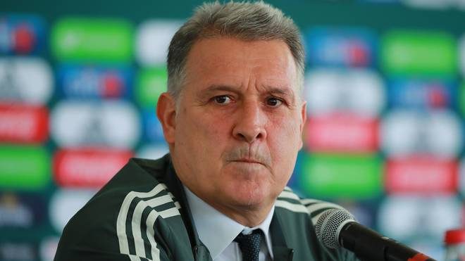 Mexico National Team Unveils New Coach Gerardo Martino