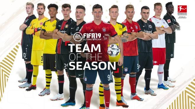 Einmal mehr veröffentlicht EA SPORTS das von der Community gewählte Team of the Season der Bundesliga in FIFA 19. Darunter einige bekannte Gesichter sowie die eine oder andere Überraschung
