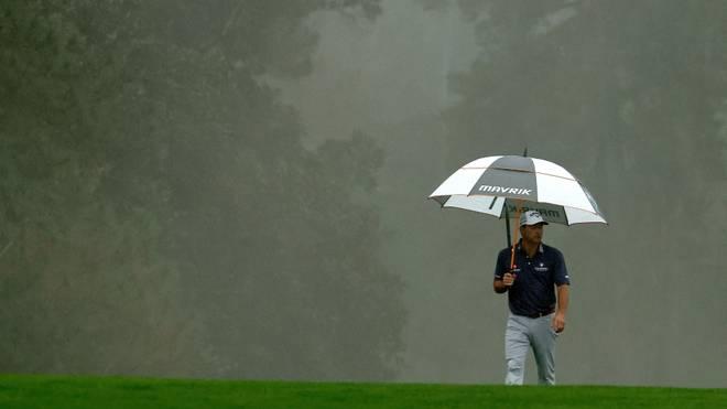 Masters: Unterbrechung aufgrund starken Regens