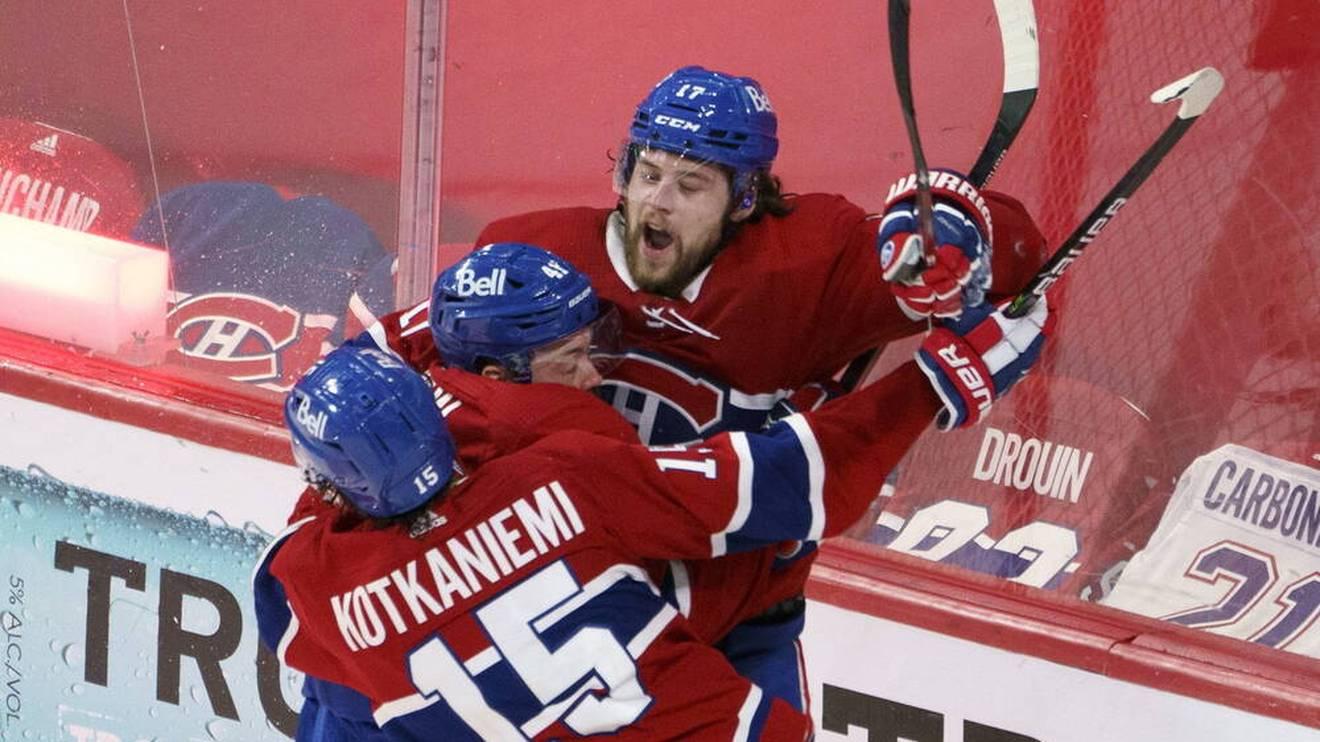 Die Montreal Canadiens marschieren in der NHL zum Titel