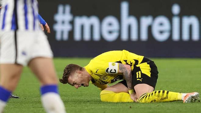 Marco Reus bekam im letzten Spiel einen fiesen Tritt ab