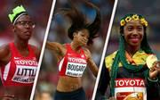 Die auffälligsten Frisuren der Leichtathletik-WM