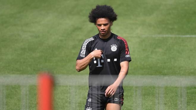 Leroy Sane kann beim FC Bayern wieder mit dem Lauftraining beginnen