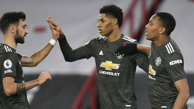 Manchester United holt sich drei Punkte gegen Sheffield