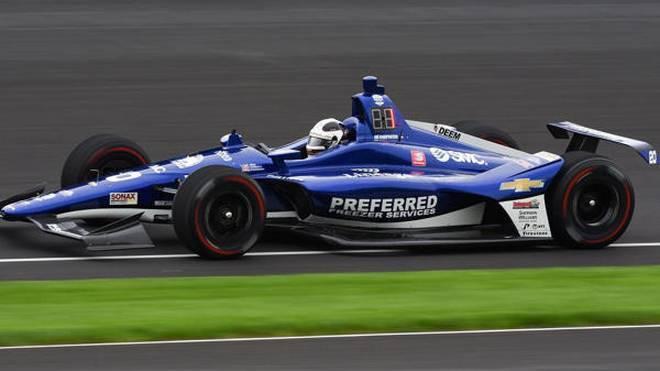 Ed Carpenter setzte die erste Bestzeit der Indy-500-Trainingswoche 2019