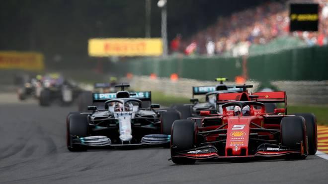 Wann Sebastian Vettel und Lewis Hamilton wieder auf die Strecke gehen, steht in den Sternen