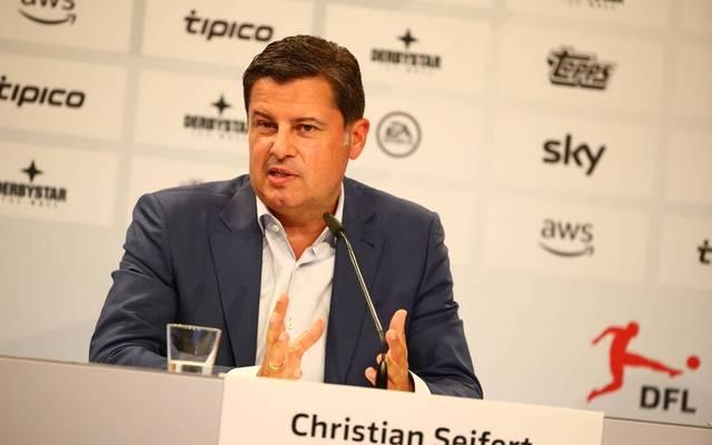 DFL-Boss Christian Seifert bringt eine teilweise Rückkehr der Fans beim Supercup ins Gespräch