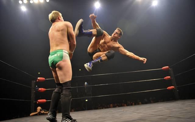 Rene Dupree (r.) trat bis 2007 für die WWE an