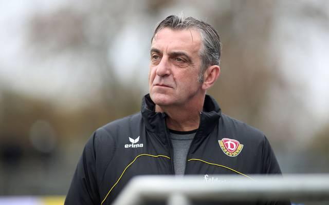 Ralf Minge ist noch bis 30. Juni Sport-Geschäftsführer von Dynamo Dresden