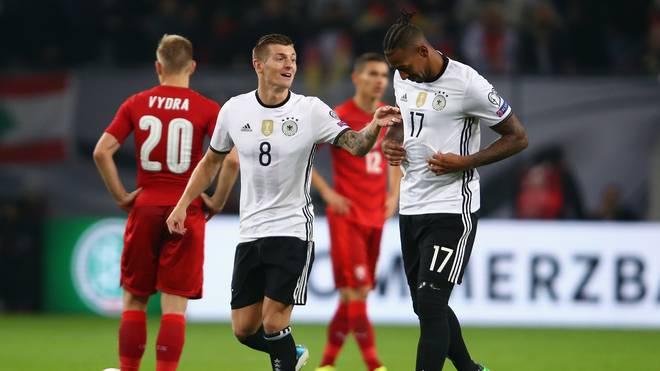 Toni Kroos und Jerome Boateng sind zwei von sechs Deutschen auf der FIFA-Shortlist
