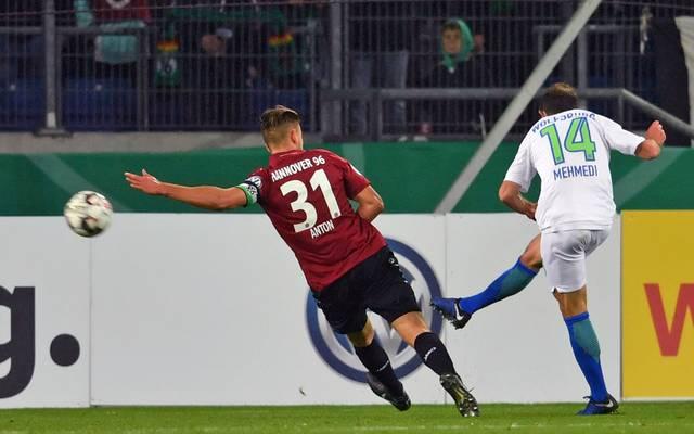 Admir Mehmedi brachte Wolfsburg in Hannover in Front