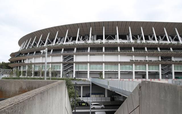 Das Olympiastadion in Tokio ist fertiggestellt worden