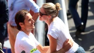 BMW Tennis Open-Tommy Haas-Sara Foster