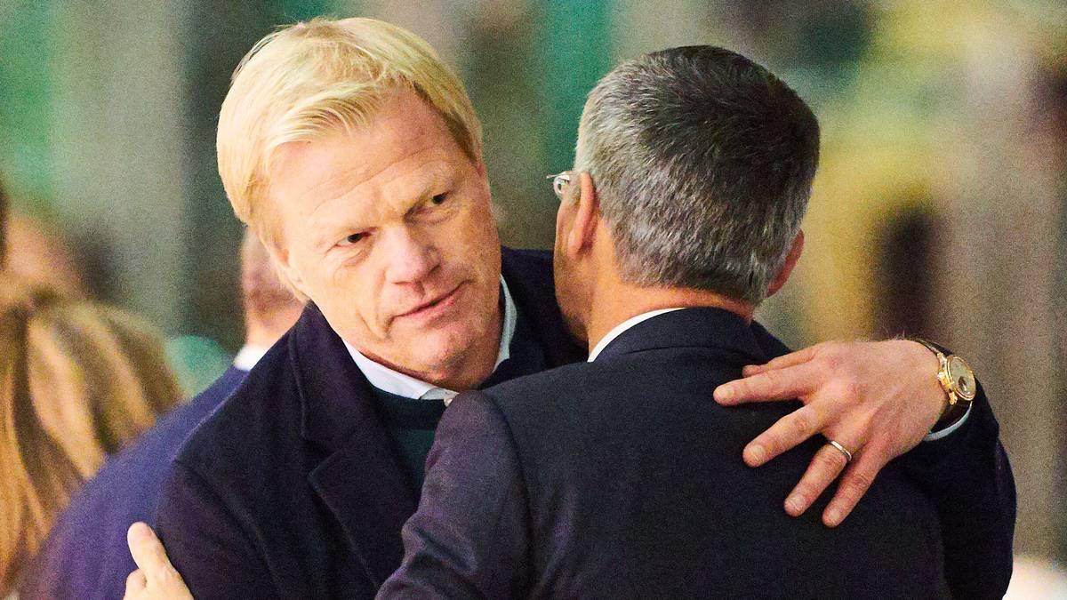 Oliver Kahn und Herbert Hainer werden die neue Spitze des FC Bayern bilden