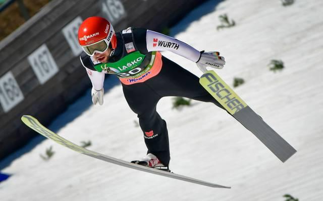 Markus Eisenbichler weiß bei der Qualifikation zu überzeugen