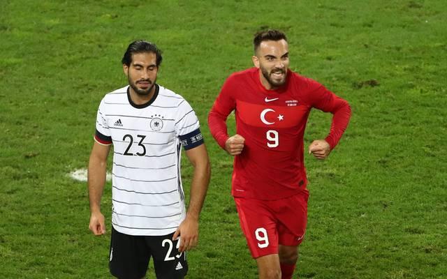 Emre Can kassierte mit Deutschland in der Nachspielzeit den Ausgleich