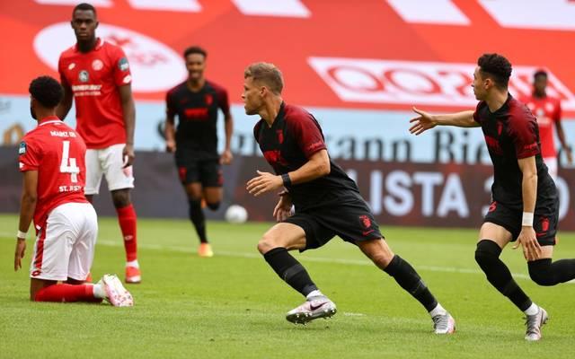 Florian Niederlechner beendete gegen Mainz seine Torflaute