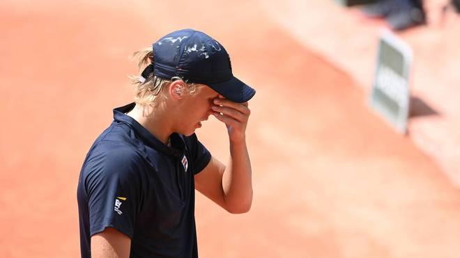 Leo Borg scheitert bei den French Open in der Junioren-Konkurrenz