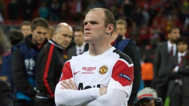Wayne Rooney musste im Jahr 2009 und im Jahr 2011 bittere Niederlagen im Champions-League-Finale gegen den FC Barcelona hinnehmen