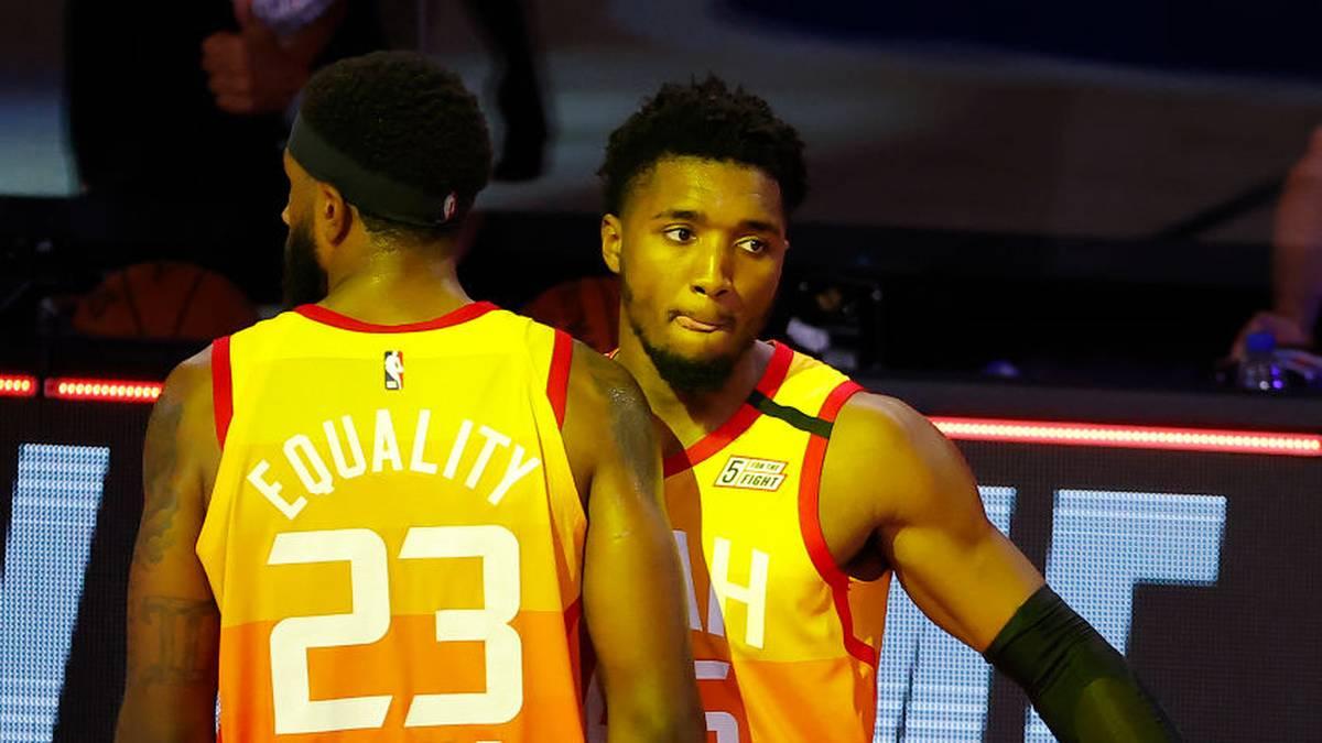 Donovan Mitchell von den Utah Jazz