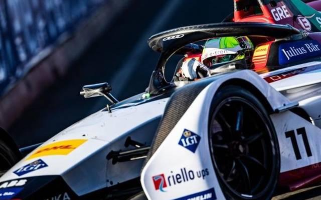 DTM-Pilot Jamie Green absolvierte seinen ersten Formel-E-Test mit Audi