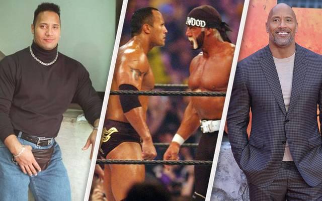 """Vor zwanzig Jahren wurde Dwayne """"The Rock"""" Johnson erstmals WWE-Champion"""