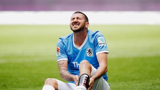 Sascha Mölders ist mit den Löwen aus der Zweiten Liga abgestiegen