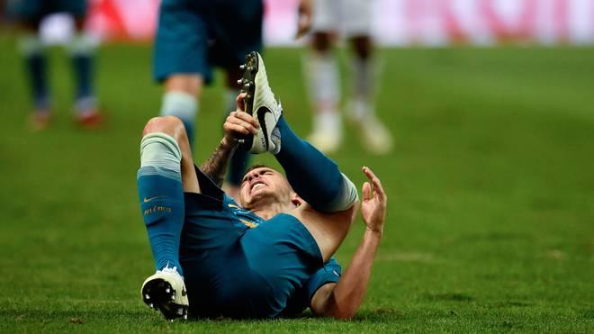 Lucas Hernandez absolviert bereits die Reha nach seiner Knie-OP in München