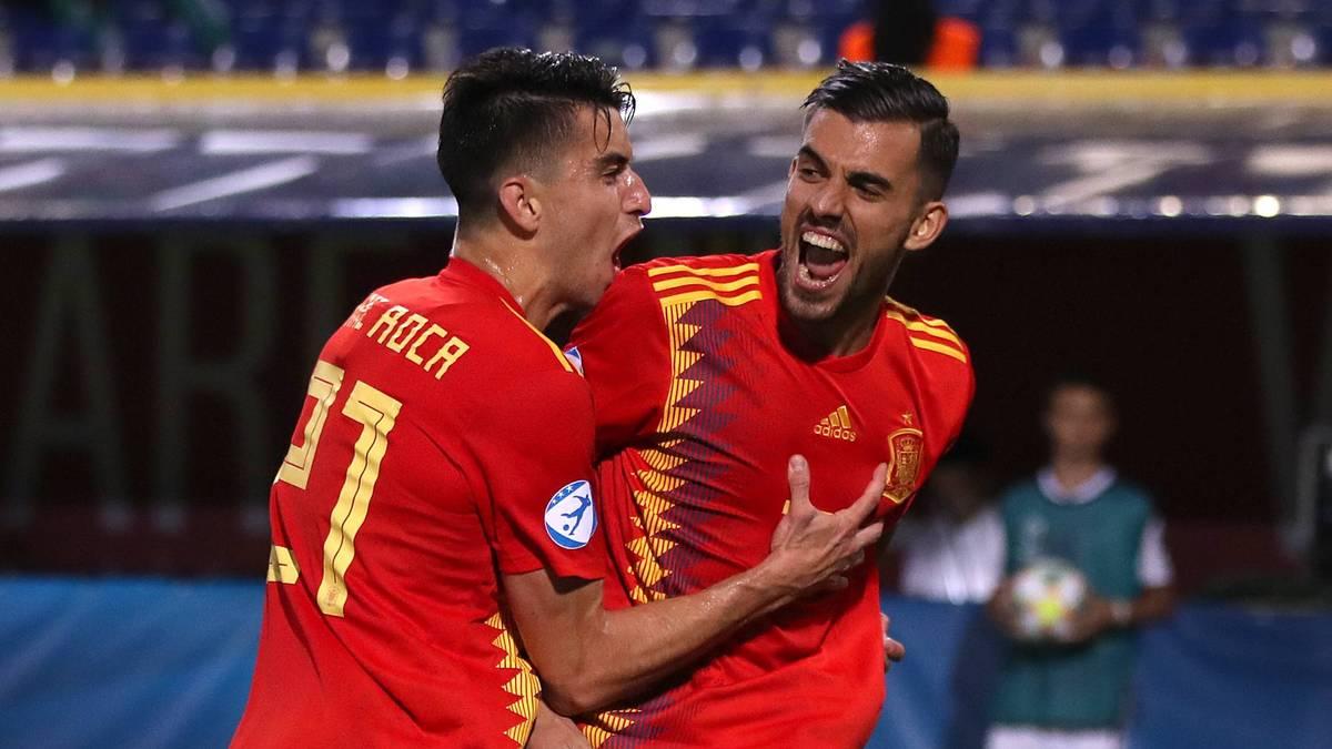 U21 EM: Spanien nach 5:0 gegen Polen im Halbfinale - Italien hofft