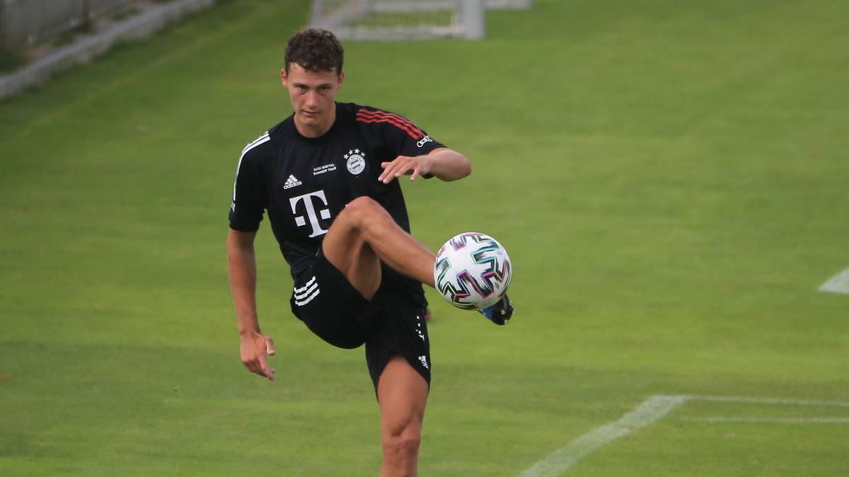 Benjamin Pavard ist als Rechtsverteidiger beim FC Bayern gesetzt