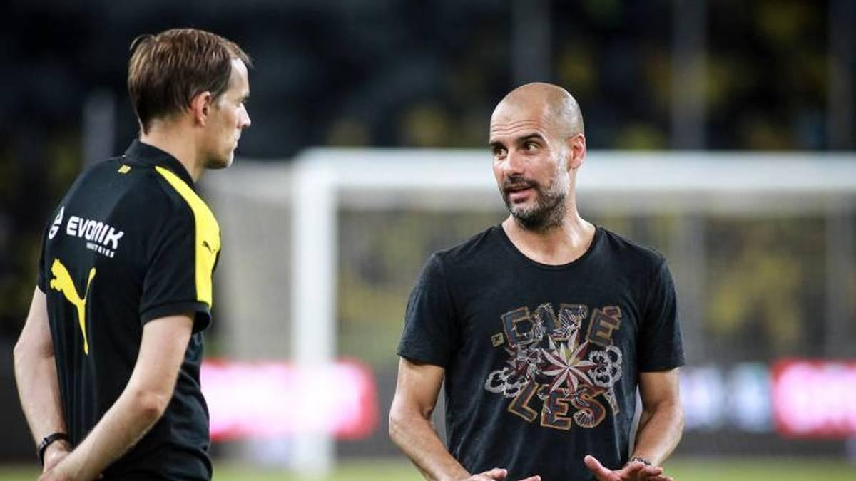 Thomas Tuchel hat das Ruder beim FC Chelsea übernommen. Pep Guardiola freut sich sehr, seinen Freund in der Premier League begrüßen zu dürfen.